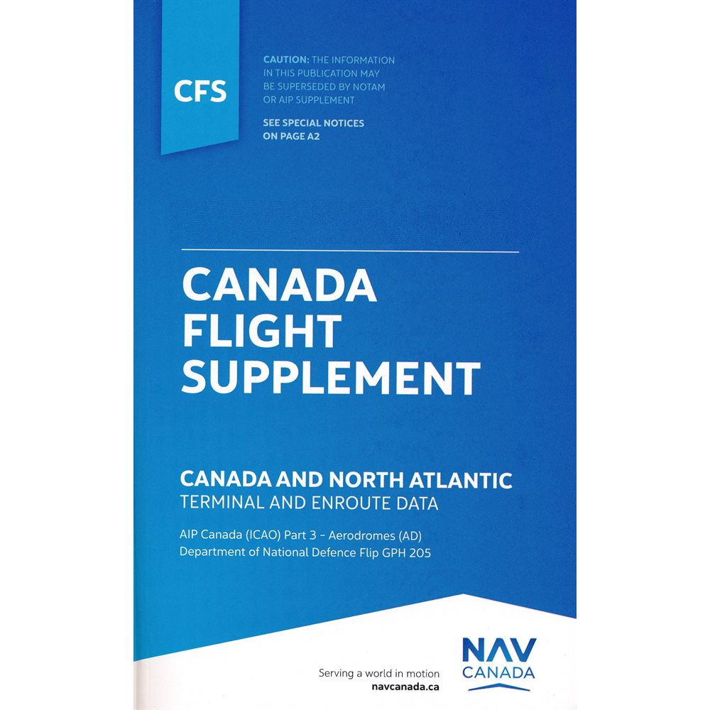 Canada Flight Supplement - CFS