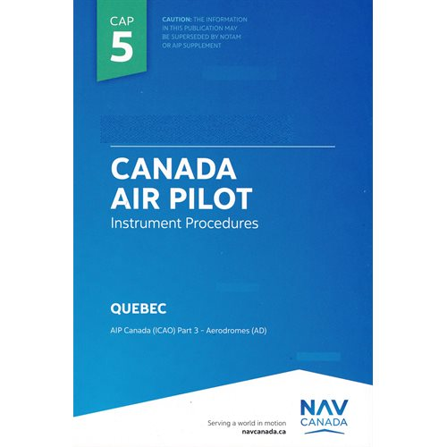 CAP 5 : Québec - version anglaise