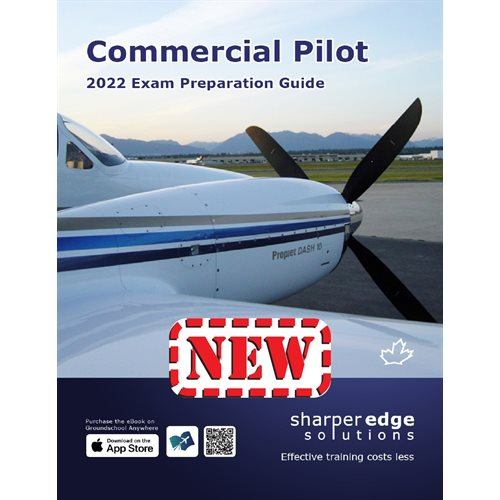 Commercial Pilot Exam Prep Guide 2021 - SharperEdge