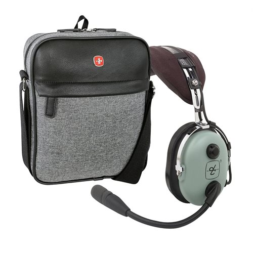 DAVID CLARK H10-13.4 Passive Noise Reduction (PNR) Headset Combo with Headset Bag