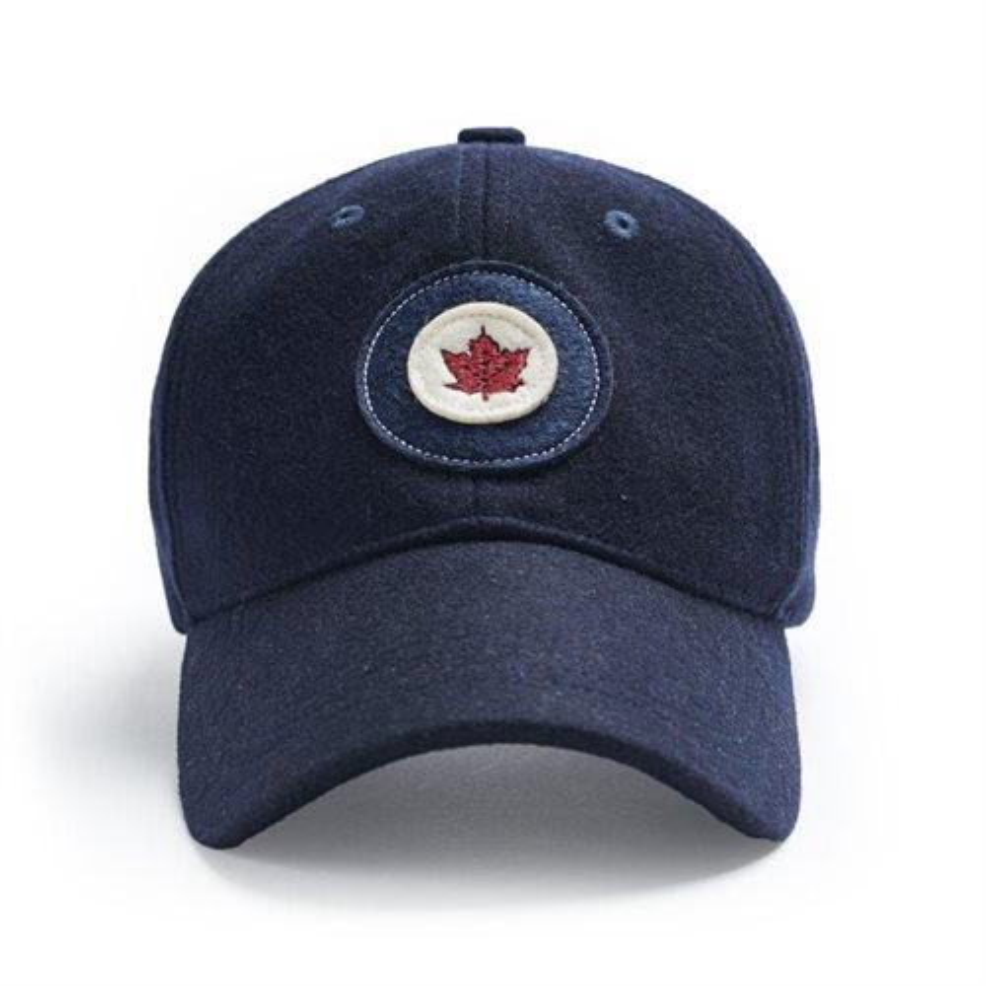 RCAF Wool Cap Navy