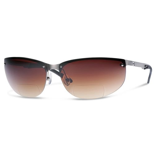 DUAL NV1 SUNGLASSES Bronze LENS WITH READERS magnification (+1,5)