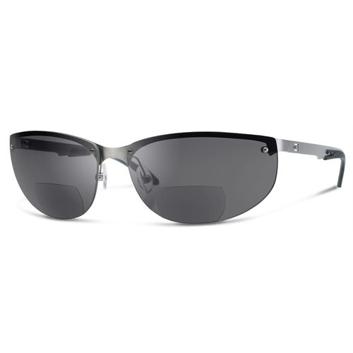 DUAL NV1 SUNGLASSES Smoke LENS WITH READERS magnification (+1,5) - Liquidation