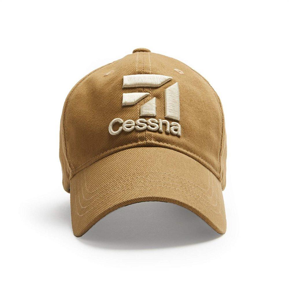 Cessna 3D Logo Tan