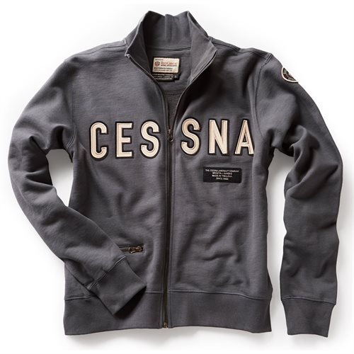 Cessna Full Zip Sweatshirt - Clearance