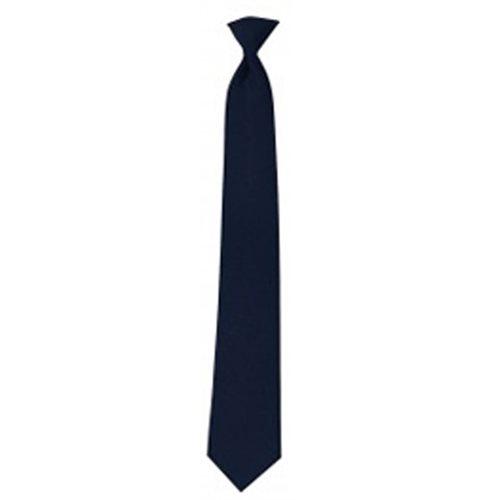 """Pilot Tie Blue Clip-On 18"""""""