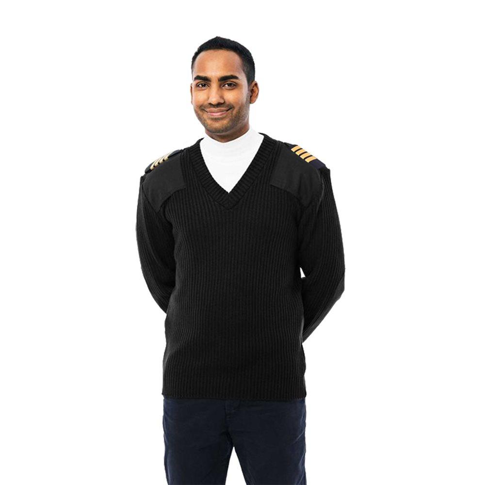 Pilot  Sweater Black - Large