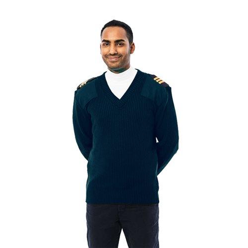 Gilet de pilote bleu marine